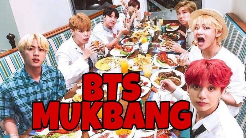 BTS 방탄소년단 MUKBANG 먹방 BANGTAN EATING