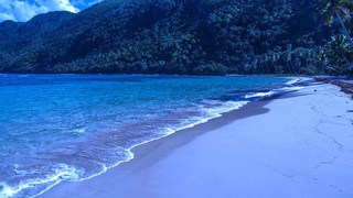 Carribean Ocean Waves at Night for Sleeping - Mix Them With Your Sleep Music
