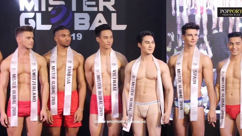 Full HD Mister Global 2019 World Final Swimwear รอบชุดว่ายน้ำ VDO BY POPPORY