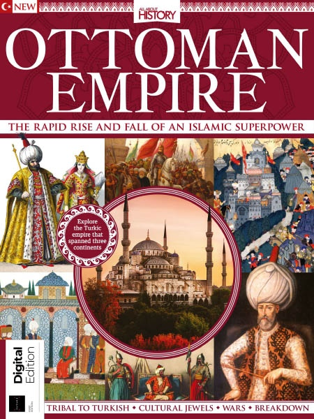 All About History. Book of the Ottoman Empire Ed1 2019