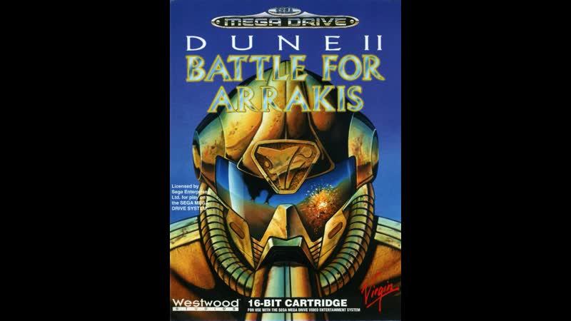 Dune 2 The Battle For Arrakis (РУССКАЯ ВЕРСИЯ) (SMD). Играет Gamer...
