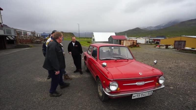 На запорожце по Исландии. 2 часть. Дорога Митти, рыбный промысел и ремонт машины.
