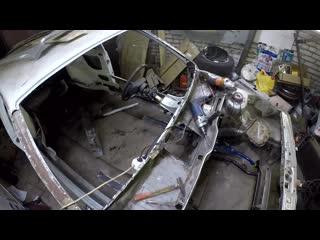 Парень с завода Замена рамки ветрового  лобового стекла, а так же накладки стойки двери. Проблема 2108-2115