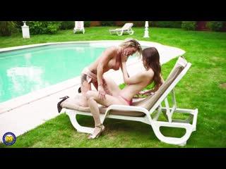 Lesbian, masturbation, milf, old & young, lesbians, public, shaved, 1080p