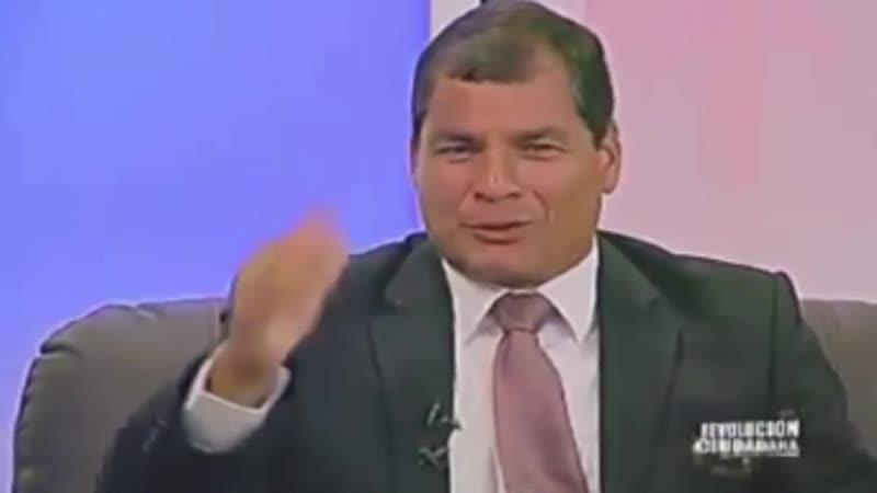 Presidente Rafael Correa opina sobre el matrimonio