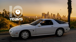 1988 Mazda RX-7 Turbo II 10th Anniversary: The Basement Find | Petrolicious