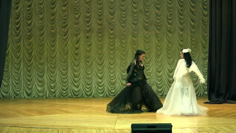 Fusion dance Swan Lake FAIZA duet