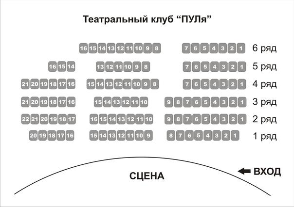 В первом ряду кинотеатра занято