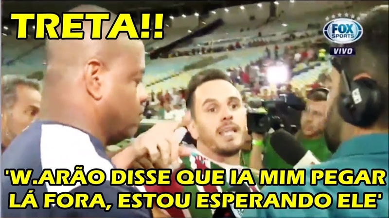 Olha a treta de Willian Arão x Lucas, Após a eliminação do Flu e a Classificação do Fla (01/11)