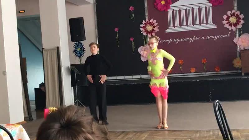 Плескова Влада и Рыбочкин Олег
