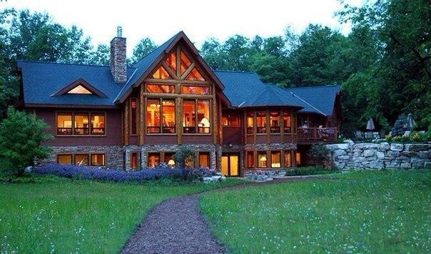 Шикарный загородный дом