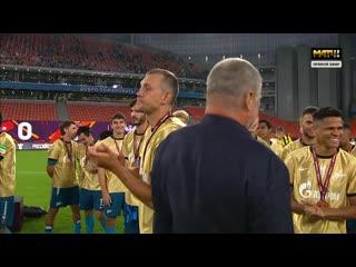 Церемония вручения Олимп Кубка России 2020