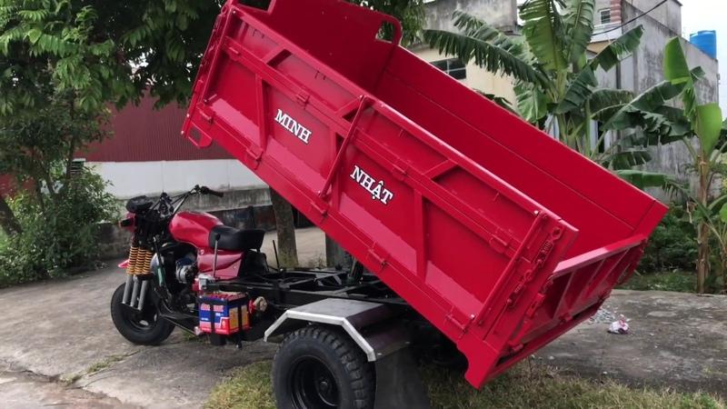 0961868172 Xe ba bánh máy dầu tải trọng 3 5 tấn máy dầu nhật bãi kubota 24 hp