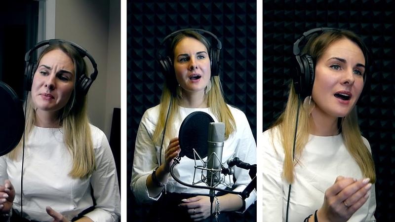 Украинская народная песня «Куды б я ни ихала, куды б я ни шла» Анна Юганова