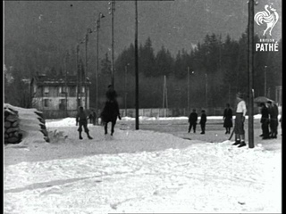 Snow Sportists On Sleeve As Snow Spurtists (1931)