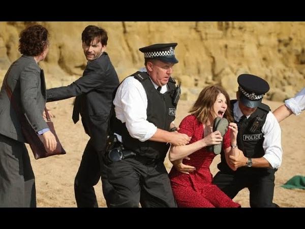 Бродчерч город окутанный тайнами 2 сезон 1 серия криминал драма 2013 Великобритания