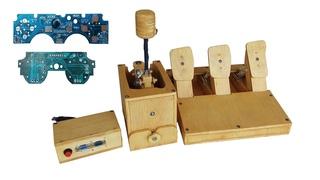 Wiring Shifter Prototype dan Pedal Menggunakan Joystick