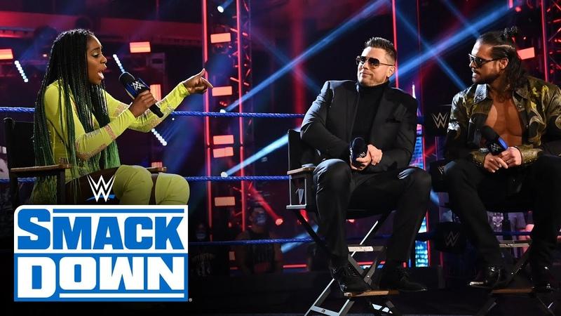 "Naomi responds to the trending conversation on Miz TV"" SmackDown July 24 2020"
