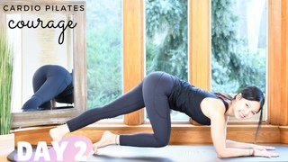 Day 2: COURAGE | Cardio Pilates Workout | 30 Days of Light Series