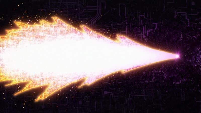 Boros Meteoric Burst (момент из аниме One Punch Man)