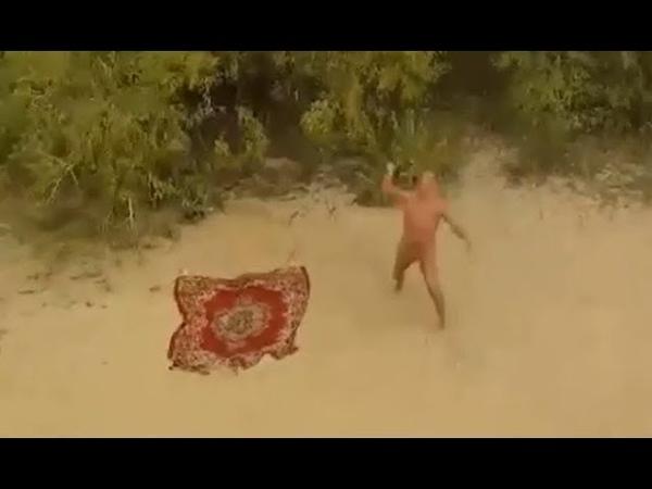 Нижегородских нудистов дразнят квадрокоптерами на Гребном канале