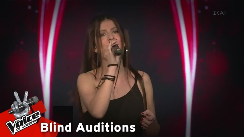 Μαρία Στεφάνου Promises 12o Blind Audition The Voice of Greece