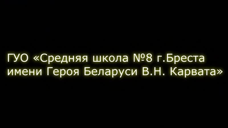 Лучший актив ОО БРСМ 2019 года ГУО Средняя школа №8