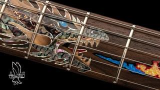The Private Stock 35th Anniversary Dragon   PRS Guitars