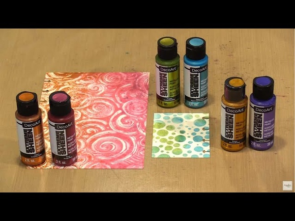 Shimmer Shine With DecoArt Extreme Sheen Galaxy Glitter by Joggles.com