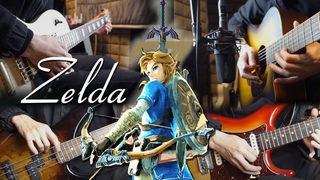 The Legend of Zelda: Breath of the Wild Theme Song   Rock Style Adaptation   One Man Full Band