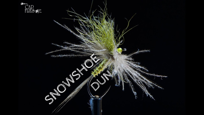 Snowshoe Dun Fly Tying with