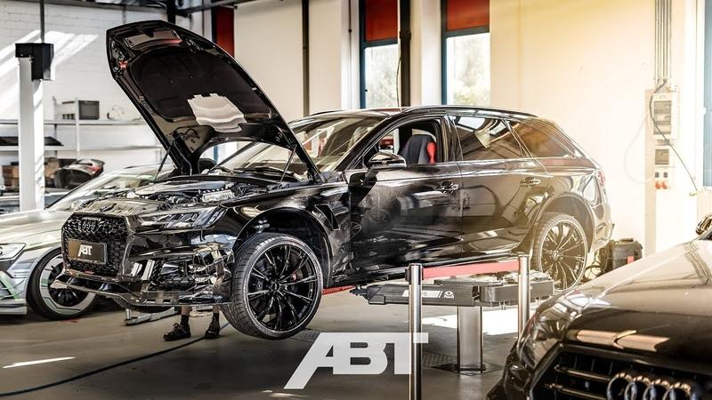 Umbau eines ABT RS4 R ABT Sportsline