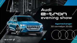 Audi e-tron evening show