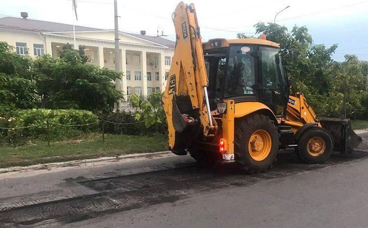В Северодонецке проводится текущий ремонт дорог
