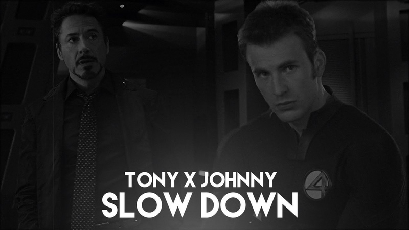 ★ 'tony 'johnny [AU] | SLOW DOWN