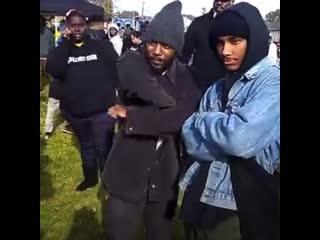 Kendrick lamar at enterprise park 2