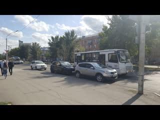 Движение по роспекту Ленина в Барнауле