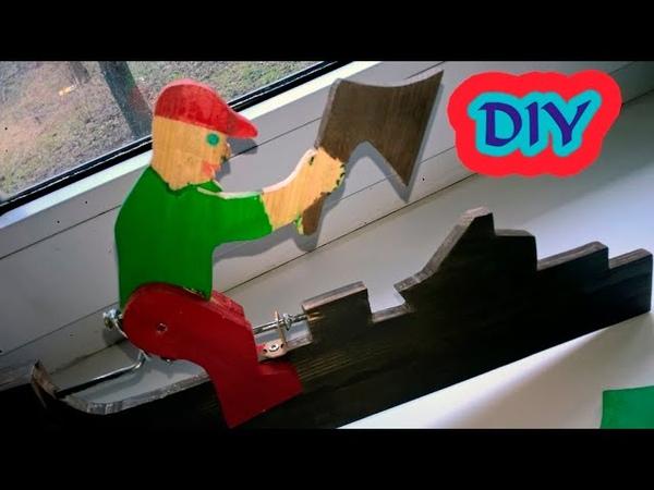 DIY garden turntable Как сделать садовую вертушку своими руками для дома в домашних условиях 5 ч 1