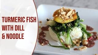 Chả cá Lã Vọng, cách làm món ngon Hà Nội ở Mỹ (Cha Ca La Vong Turmeric fish with dill and noodle)