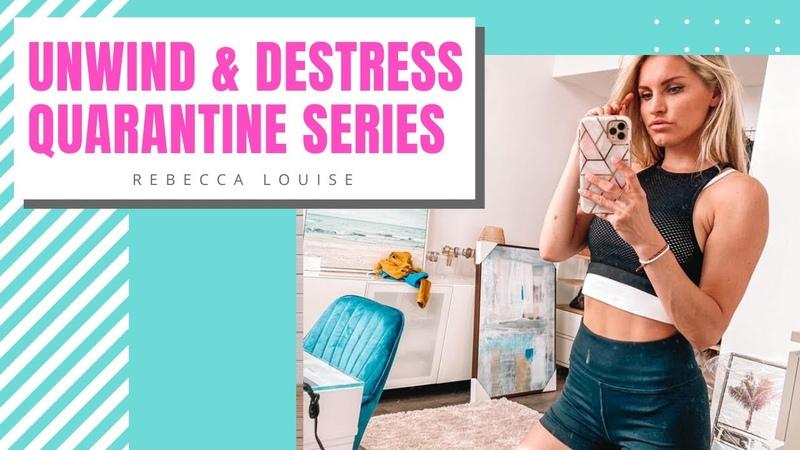 Растяжка для снятия стресса и тревоги De stress and Unwind STRETCHES RELEASE ANXIETY Rebecca Louise
