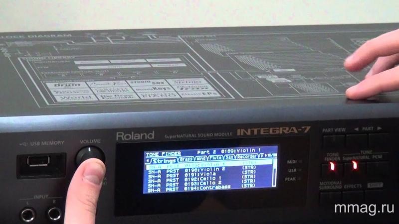 Roland Integra 7 video review and demo