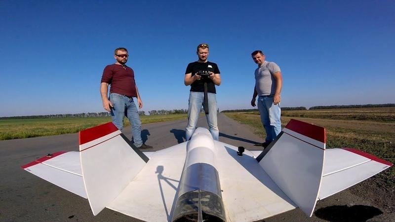 Беспилотник с Мощной Турбиной - Максималки и пуски ракет