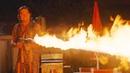 Сцена с огнемётом. Рик cжигает девчонку хиппи   Однажды в Голливуде (2019)