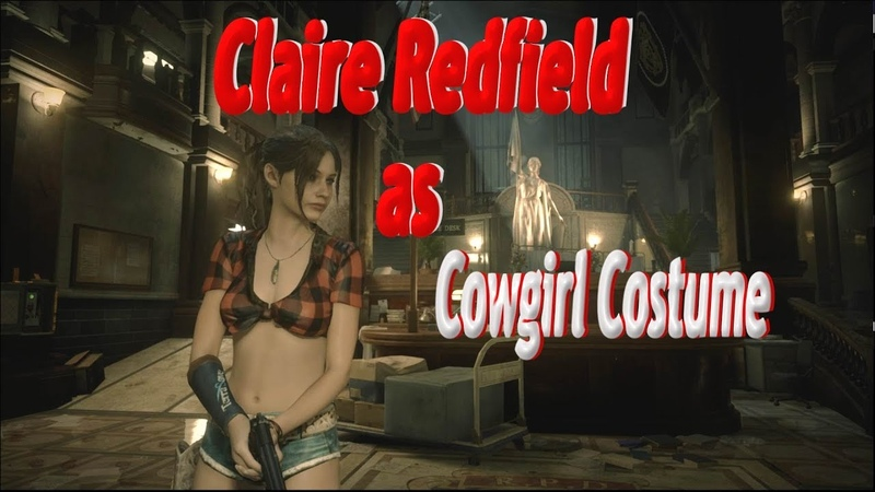 Resident Evil 2 Remake - Claire as Cowgirl