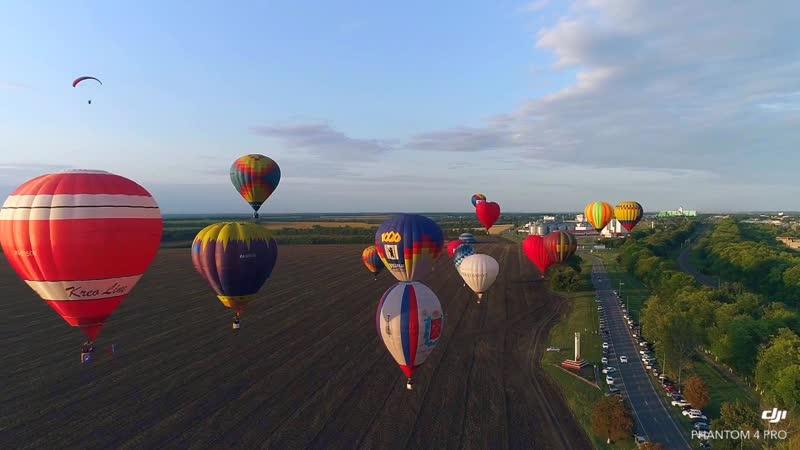 Фестиваль воздушных шаров Небосвод Белогорья by SpotFamily