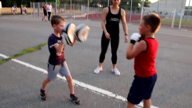 Детская группа на Динамо