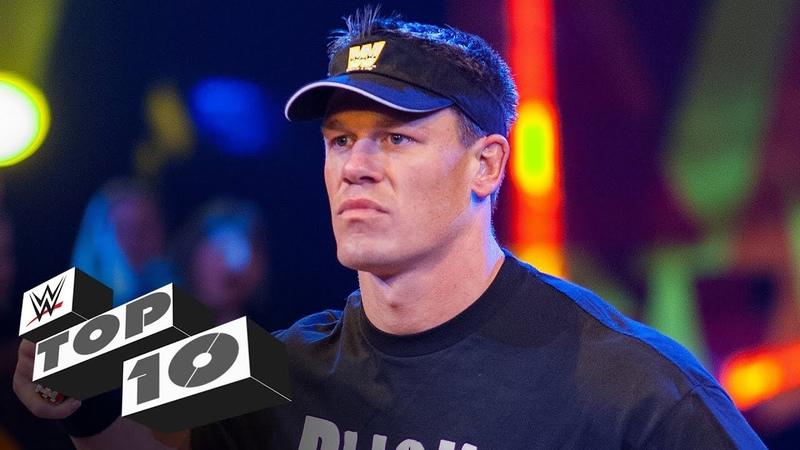 John Cena's greatest SmackDown moments WWE Top 10 Feb 19 2020