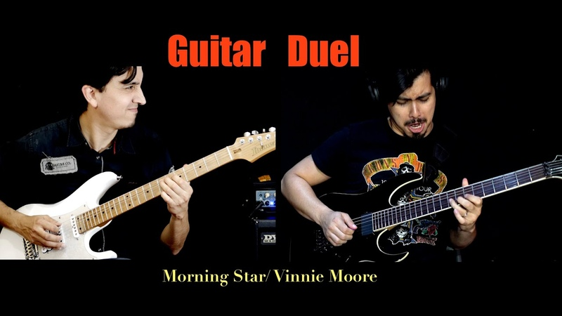 Robbin Blanco feat Sergio Aguilar Morning Star by Vinnie Moore Time Odyssey 2020