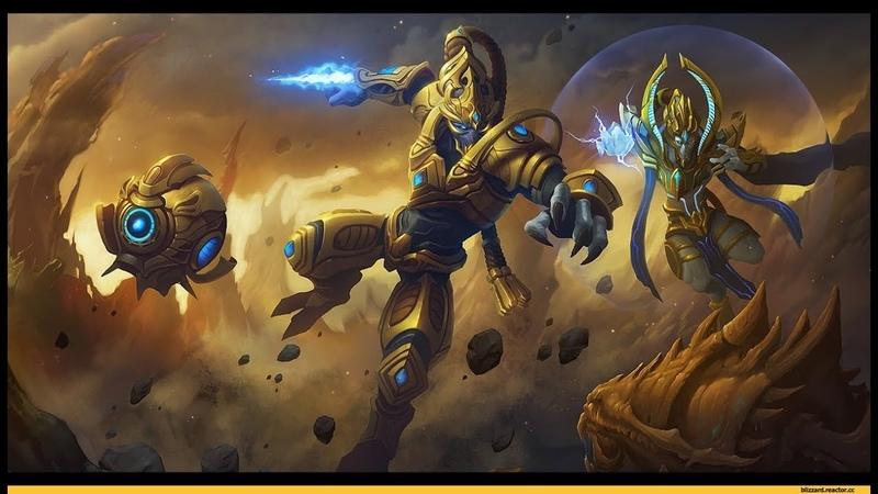 Может уже добью марафон деревянными руками в StarCraft II Legacy of the Void