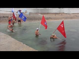 Тюменские «моржи» примут участие в Черноморской эстафете Победы